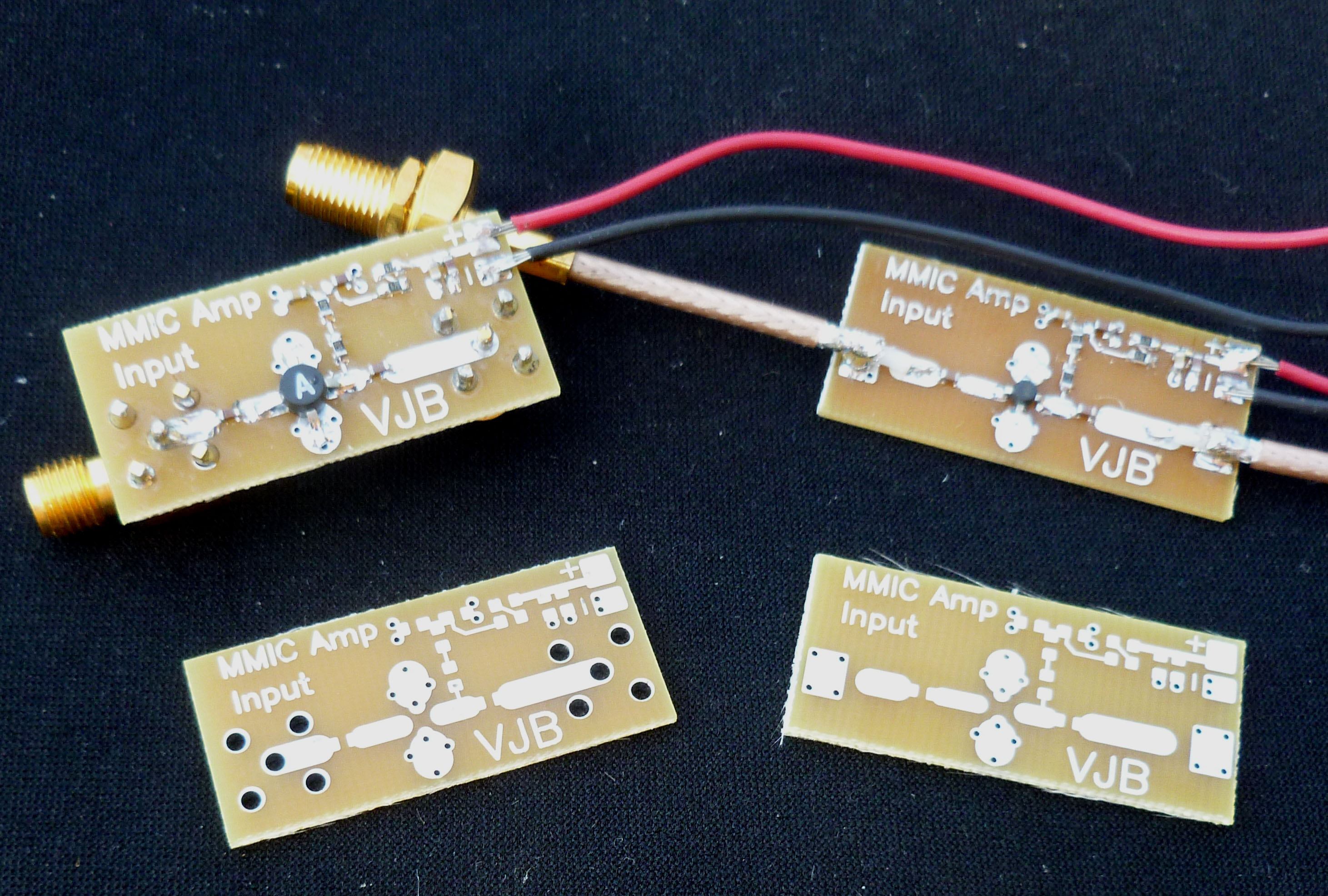 MMIC Prototype Boards